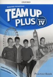okładka Team Up Plus 4 Materiały ćwiczeniowe +Online Szkoła podstawowa, Książka | Philippa Bowen, Denis Delaney, Diana Anyakwo