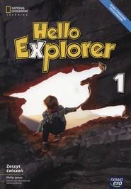 okładka Hello Explorer 1 Zeszyt ćwiczeń Szkoła podstawowa, Książka | Philip James, Dorota Sikora-Banasik, Marta Mrozik