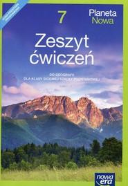 okładka Planeta Nowa Geografia 7 Zeszyt ćwiczeń Szkoła podstawowa, Książka   Justyna Knopik, Maria Kucharska, Przybył Ryszard