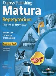 okładka Matura 2015 Repetytorium Teachers Book Poziom podstawowy + CD, Książka   Virginia Evans, Jenny Dooley, Barbara Czarnecka-Cicha