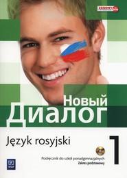 okładka Nowyj Dialog 1 Podręcznik + CD Szkoły ponadgimnazjalne, Książka | Mirosław Zybert