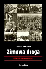 okładka Zimowa droga Powieść dokumentalna, Książka | Józefowicz Leonid