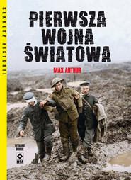okładka Pierwsza Wojna Światowa, Książka | Arthur Max