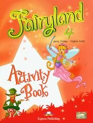 okładka Fairyland 4 Activity Book Szkoła podstawowa, Książka   Jenny Dooley, Virginia Evans