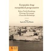 okładka Europejskie drogi staropolskich peregrynantów Relacje Teofila Szemberga, Protazego Neveraniego i Franciszka Bielińskiego, Książka |