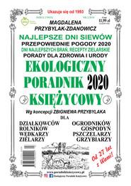 okładka Ekologiczny Poradnik Księżycowy 2020, Książka | Magdalena Przybylak-Zdanowicz