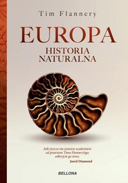 okładka Europa Historia naturalna, Książka | Flannery Tim
