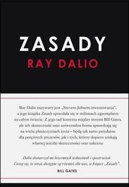 okładka Zasady, Książka | Dalio Ray