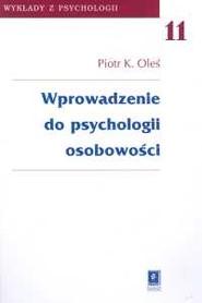 okładka Wprowadzenie do psychologii osobowości t.11, Książka | Piotr K. Oleś