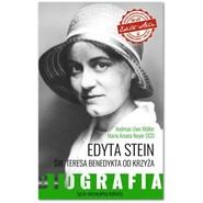 okładka Edyta Stein Życie niezwykłej kobiety. Biografia, Książka | Andreas Uwe Müller, Maria Amata Neyer