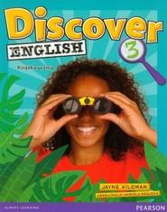 okładka Discover English 3 Książka ucznia Szkoła podstawowa, Książka | Wildman Jayne