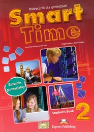 okładka Smart Time 2 Język angielski Podręcznik Gimnazjum, Książka   Virginia Evans, Jenny Dooley