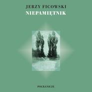 okładka Niepamiętnik, Książka   Ficowski Jerzy
