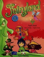 okładka Fairyland 4 Podręcznik + CD Szkoła podstawowa, Książka   Jenny Dooley, Virginia Evans