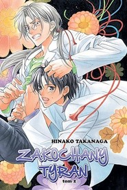 okładka Zakochany Tyran #02, Książka | Takanaga Hinako