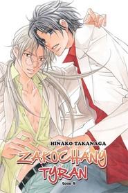 okładka Zakochany Tyran #08, Książka | Takanaga Hinako
