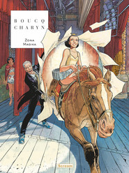 okładka Żona magika, Książka   Francois Boucq, Jerome Charyn