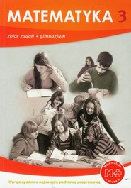 okładka Matematyka z plusem 3 Zbiór zadań Gimnazjum, Książka | Marcin Braun, Jacek Lech
