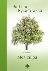 okładka Mea culpa, Książka   Barbara Rybałtowska