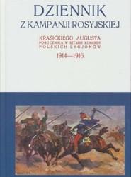 okładka Dziennik z kampanji rosyjskiej Krasickiego Augusta 1914-1916 Tom 2, Książka   Krasicki August