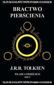 okładka Władca Pierścieni Tom 1 Bractwo Pierścienia, Książka   J.R.R.  Tolkien