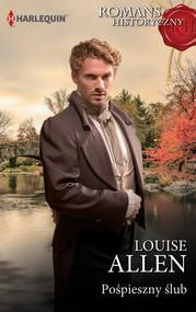 okładka Pośpieszny ślub, Książka | Louise Allen