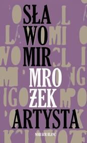 okładka Artysta i inne opowiadania, Książka   Sławomir Mrożek