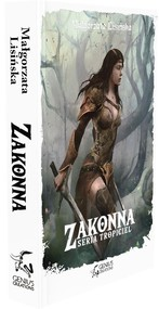 okładka Zakonna, Książka | Małgorzata Lisińska