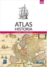 okładka Atlas Historia Liceum i technikum. Szkoła ponadpodstawowa, Książka |