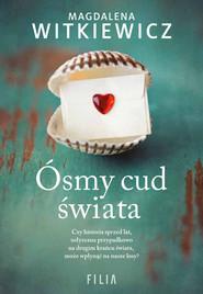 okładka Ósmy cud świata Wielkie Litery, Książka | Magdalena Witkiewicz