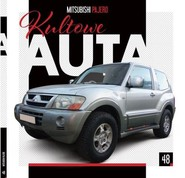 okładka Kultowe Auta 48 Mitsubishi Pajero, Książka |
