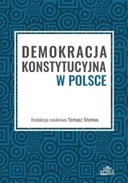 okładka Demokracja konstytucyjna w Polsce, Książka  