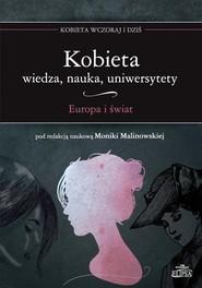 okładka Kobieta Wiedza nauka uniwersytety Europa i świat, Książka  