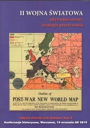 okładka II wojna światowa ukrywane strony strategie przetrwania, Książka   Praca Zbiorowa