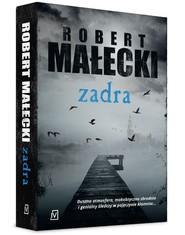 okładka Zadra, Książka   Robert Małecki