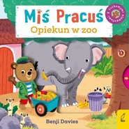 okładka Miś Pracuś Opiekun w zoo, Książka | Davies Benji