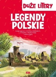 okładka Legendy polskie Duże litery, Książka  