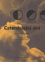 okładka Czterdzieści dni, Książka | Cassar Antoine