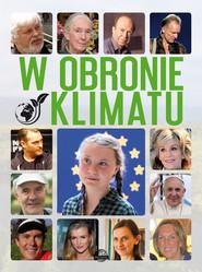 okładka W obronie klimatu, Książka   Ulanowski Krzysztof