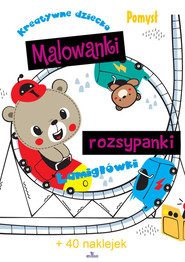 okładka Malowanki rozsypanki, Książka | Grzankowska Ewelina