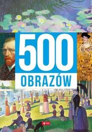 okładka 500 obrazów, Książka | Ristujczina Luba