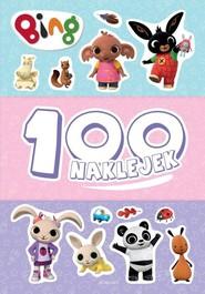 okładka Bing 100 naklejek, Książka   null null