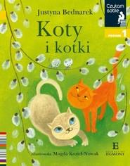okładka Czytam sobie Koty i kotki / poz 1, Książka | Justyna Bednarek