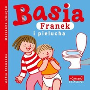 okładka Basia Franek i pielucha, Książka | Zofia Stanecka
