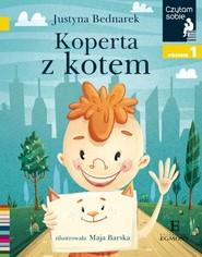 okładka Czytam sobie Koperta z kotem / poz 1, Książka | Justyna Bednarek