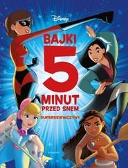 okładka Superdziewczyny Bajki 5 minut przed snem, Książka   null null