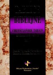 okładka Tablice biblijne t.1, Książka | John H. Walton, Wayne H. House, Robert L. Thomas