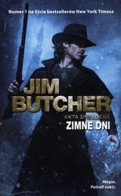 okładka Zimne dni, Książka | Butcher Jim