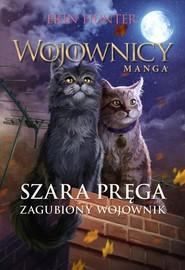 okładka Szara Pręga Zagubiony wojownik Wojownicy Manga IV, Książka | Erin Hunter