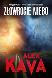 okładka Złowrogie niebo, Książka | Alex Kava